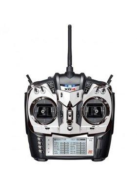 JR JR XG14 DMSS 2.4GHZ RADIO SET WITH RG731BX RECIVER MODE 2  test