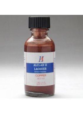 ALCLAD ALCLAD II LACQER COPPER AIRBRUSH PAINT NEEDS BLACK BASE