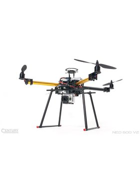 CENTURY HELI CENTURY UAV NEO 600 V2 QUADCOPTER MULTI-ROTOR BASE KIT <br />