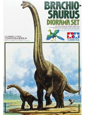 HASEGAWA Brachiosaurus Diorama - Tamiya