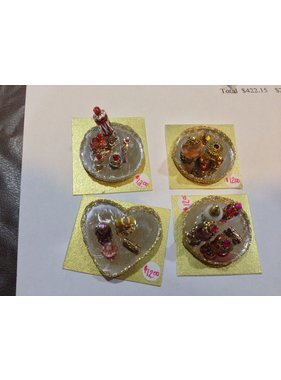 ACE DOLLS HOUSE ACE 1/12 DOLLS HOUSE ACC PERFUME TRAYS ON MIRRORS