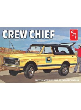 AMT AMT CREW CHIEF CHEVY BLAZER OUTFITTED AS ENGINEER'S WAGON 1/25