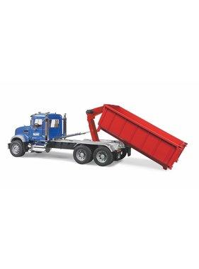 BRUDER Bruder Mack Granite with Roll-Off-Container 1:16