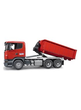 BRUDER Bruder Scania R-series with Roll-Off-Container