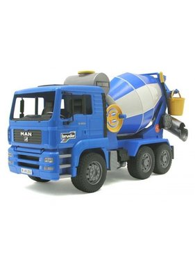 BRUDER Bruder MAN TGA Cement Mixer - Scale 1:16