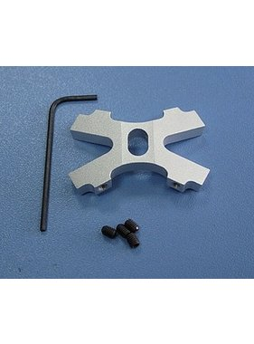 HY MODEL ACCESSORIES HY ALUMINIUM HUB FOR 4 WAY HELICOPTER TRAINING UNDER CARRIAGE<br />