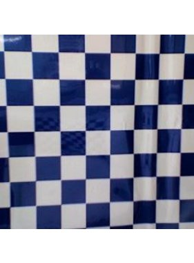 HY MODEL ACCESSORIES HY COVERING CHECKERS BLUE &amp; WHITE 638MM 2MT ( 30mm squares )<br />