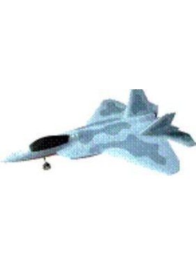 HY MODEL ACCESSORIES HY F22 RAPTOR PLANE WITH 2 X DUCTED FANS &amp; BRUSHLESS OUTRUNNER MOTOR<br />( OLD CODE HY280110 )