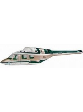 FUNKEY BODIES FUNKEY .32  ( 550 CLASS  ) BELL 222 BODY UNPAINTED INCLUDES RETRACTS