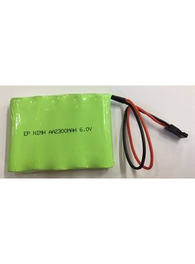 ENRICHPOWER ENRICH 6.0V 2300mah NiMh BATTERY PACK JR / HITEC LEAD