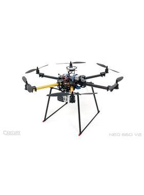 CENTURY MULTIROTOR CENTURY UAV NEO 660 V2 ARF + Dji NAZA-M LITE GPS<br />( Camera &amp; Battery shown not included )