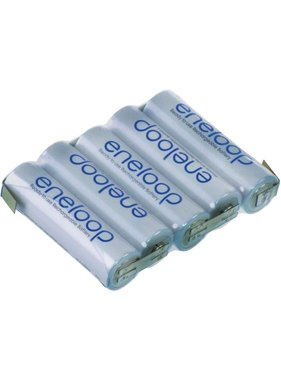 PANASONIC ENELOOP 6.0V 1900MAH NIMH AA BATTERY PACK FLAT OR HUMP WITH JR LEAD