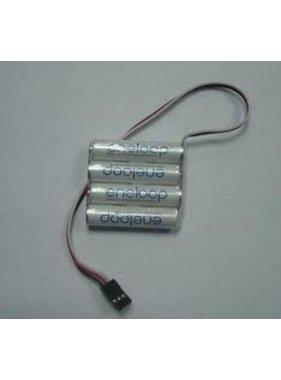 PANASONIC ENELOOP 4.8V AAA 800MAH NIMH BATTERY PACK SQUARE AND FLAT