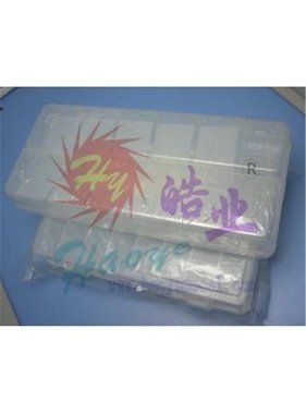 HY MODEL ACCESSORIES HY PLASTIC PARTS BOX 275 x 180 x 40 17 SECTION<br />