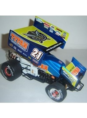 R&R SPRINT CARS R&R 2008 DARYN PITTMAN TITAN RACING 1/18 DIECAST SPRINT CAR
