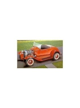"""MINICRAFT MODELCRAFT 31 FORD A-V8 HIGHBOY ROADSTER """" FLATHEADS FOREVER """" 1/16th"""