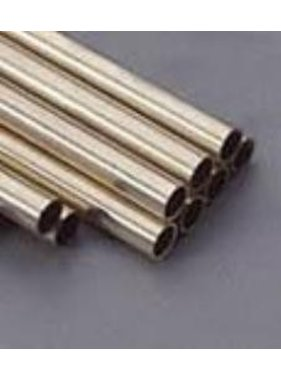 K&S K & S BRASS ROUND TUBE 10.0 X 0.45 X 1000MM
