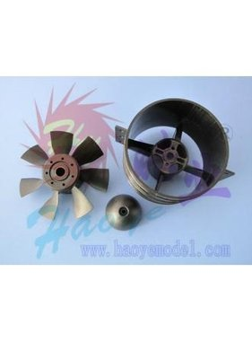 """HY MODEL ACCESSORIES HY NEW ELECTRIC DUCTED FAN 2.5"""" 64 X 75MM + B2435 3750KV"""