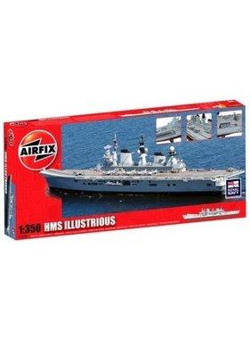 AIRFIX AIRFIX 1/350 HMS ILLUSTRIOUS  A14201 ( disc )
