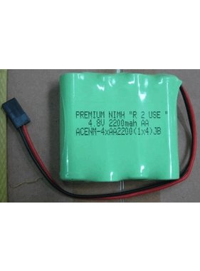 """CHENNER BATTERIES PREMIUM NIMH """"R  2 USE """"  4.8V 2200mah AA   LOW DISCHARGE CELLS  CHARGED TO 50% CAPACITY"""