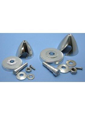 HY MODEL ACCESSORIES HY ALUMINIUM E-PROP SPINNER D30XH30mm 2.3mm SHAFT