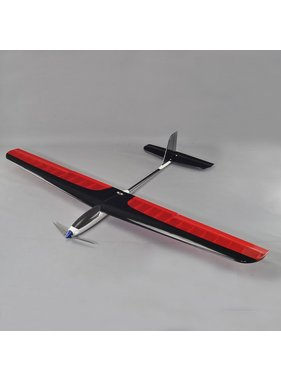 TBM TBM 4Ch RC EP 1.4M Blue Wing Advance T-Tail Aerobatic Thermal Sailplane Glider PNP INCL: Motor Speed Controller Servos