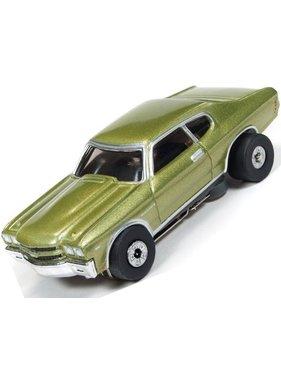 AUTO WORLD AUTOWORLD 1970 CHEVY CHEVELLE VANISHING POINT THUNDERJET ULTRA G CAR