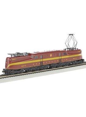 BACHMANN Bachmann GG1 Electric w/DCC SV PRR Tuscan Red 4913 HO 65302