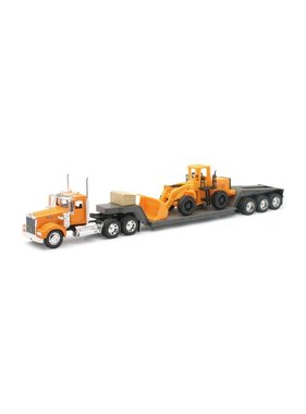NewRay NEWRAY KENWORTH W900 LOWBOY WITH LOADER