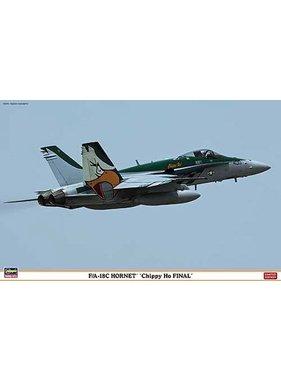 "HASEGAWA F/A - 18C Hornet """"CHIPPY HO FINAL"""" - Hasegawa"