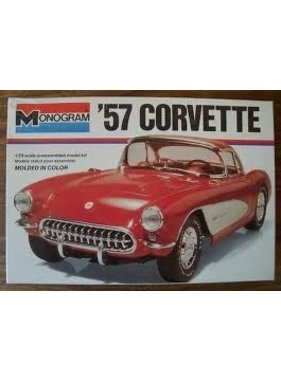 MONOGRAM MONOGRAM 57 CORVETTE 1/24 SCALE   2227