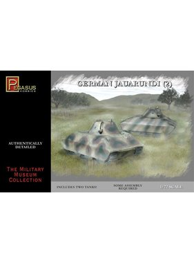 PEGASUS PEGASUS 1:72 P-245-010 TANKS JAGUARUNDI SET OF 2