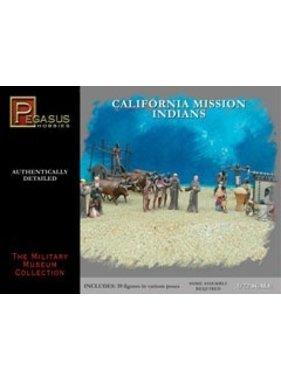 PEGASUS PEGASUS 1:72 CALIFORNIA MISSION INDIANS 39 FIGURES