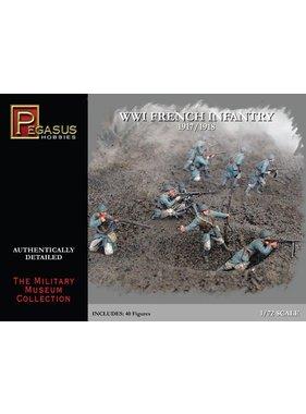 PEGASUS PEGASUS 1:72 WWI FRENCH INFANTRY 1917/1918