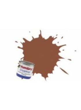 HUMBROL HUMBROL ENAMEL 14ML MATT BRICK RED  # 70