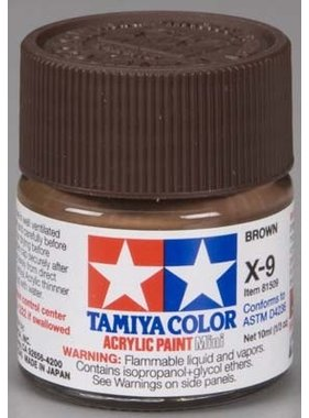 TAMIYA TAMIYA 10ml XF-9 HULL RED