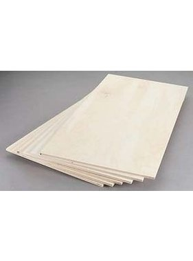 REVELL REVELL BIRCH PLYWOOD 1/8 X 6 X 12'' INCHES 3.1 X 152 X 304MM