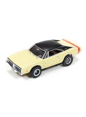 AUTO WORLD Auto World X-Traction 1969 DODGE CHARGER AVAIL IN YELLOW/BLACK OR SILVER /BLACK ( PRICE IS FOR 1 CAR )