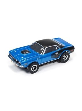 AUTO WORLD Auto World X-Traction  1971 PLYMOUTH CUDA AVAIL BLUE AND BLACK OR RED AND BLACK ( PRICE FOR 1 CAR )