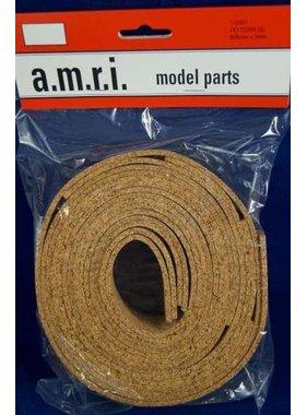 AMRI AMRI CORK ROAD BED HO 900MM X 3MM  ( 5 PCE )