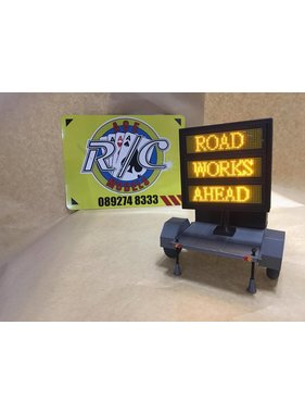 ACE 3D PRINT WORKS ACE 3D PRINT 1:14 VARIABLE DISPLAY TRAILER  WITH 50mm SCALE SIZED TYRES