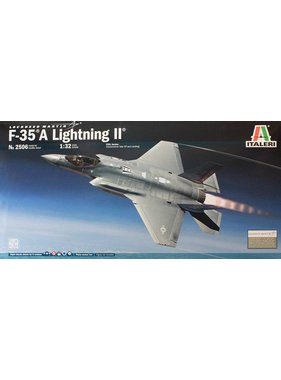 ITALERI ITALERI 1/32 F-35A LIGHTNING COTL PLASTIC MODEL KIT WITH AUSTRALIAN DECALS