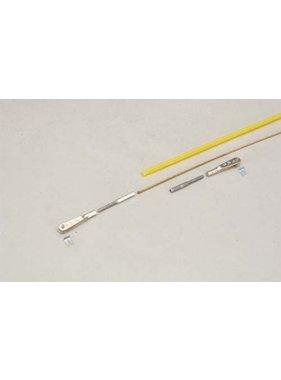 SULLIVAN SULLIVAN PUSHROD CABLE .056 X 46in FLEXABLE YELLOW 2MM #586