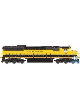 ATLAS ATLAS EMD SD60 - DCC - Master(R) -- New York, Susquehanna & Western #3806 (yellow, black)