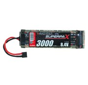 RADIENT RADIENT 8.4V NIMH 3000MAH SUPERPAX STICK PACK WITH DEANS CONNECTOR