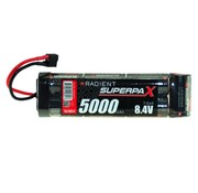 RADIENT RADIENT 8.4V NIMH 5000MAH SUPERPAX STICK PACK WITH DEANS CONNECTOR