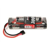 RADIENT 8.4V NIMH 3000MAH SUPERPAX HUMP PACK WITH DEANS CONNECTOR