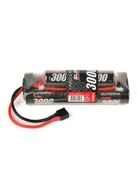 RADIENT RADIENT 8.4V NIMH 3000MAH SUPERPAX HUMP PACK WITH DEANS CONNECTOR