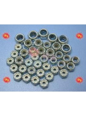HY MODEL ACCESSORIES HY IMPERIAL NYLOCK NUTS 2-56  (100PK)<br />