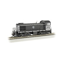 BACHMANN S4 DIESEL LOCO DCC N SCALE ATSF ZEBRA #1528 BLACK AND WHITE